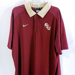 Nike Dri-Fit FSU Seminoles Florida State Shirt